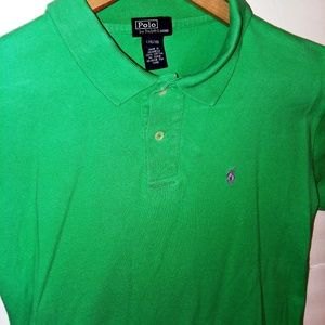 Polo Ralph Lauren Polo Shirt Boys L  (16-18) Green